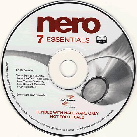nero 7 essentials with crack