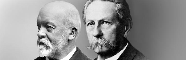 Mercedes Benz: Gottlieb Daimler und Karl benz, once again in english