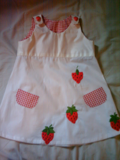 robe fraisy fraise