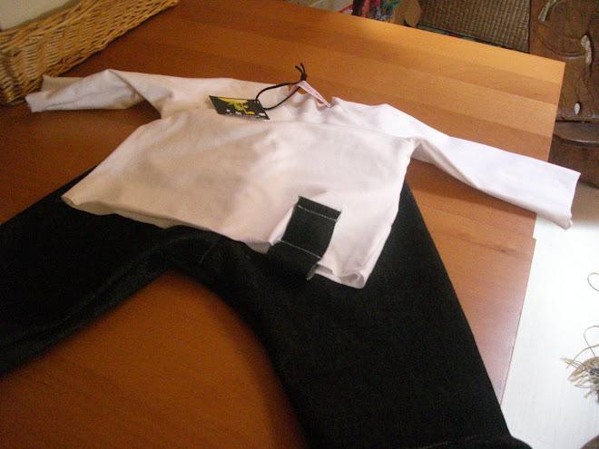 pantalon et brassière à manches raglan pour andrea T6mois