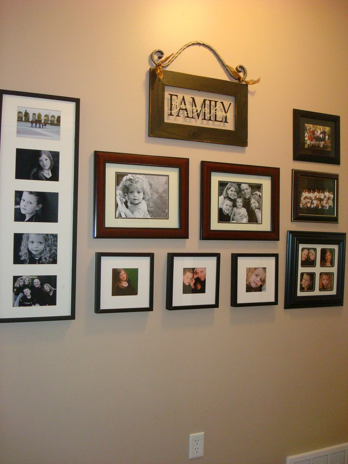 Imaginecozy Arranging Photos On The Wall
