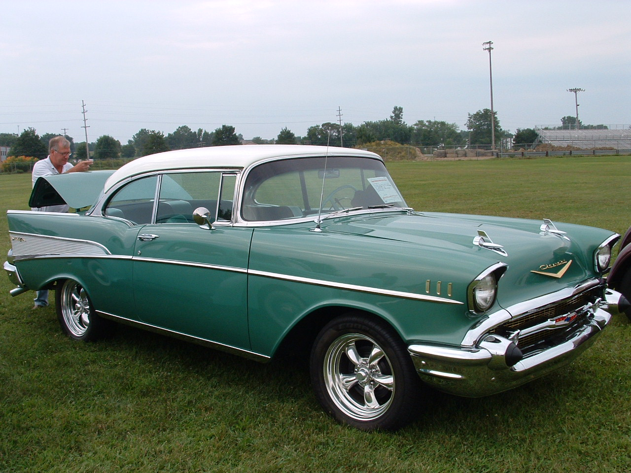 1957 Chevy BelAir coupe,