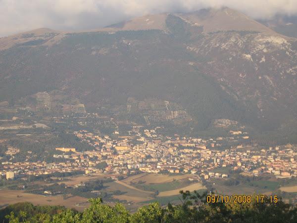 Panorama dalla chiesa di Grello