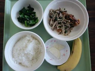 写真: 6日目の昼食