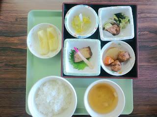 写真: 8日目の昼食