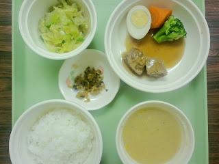 写真: 10日目の夕食