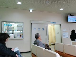 写真:耳鼻咽喉科の待合スペース