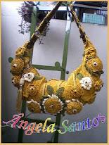Bolsa com flores