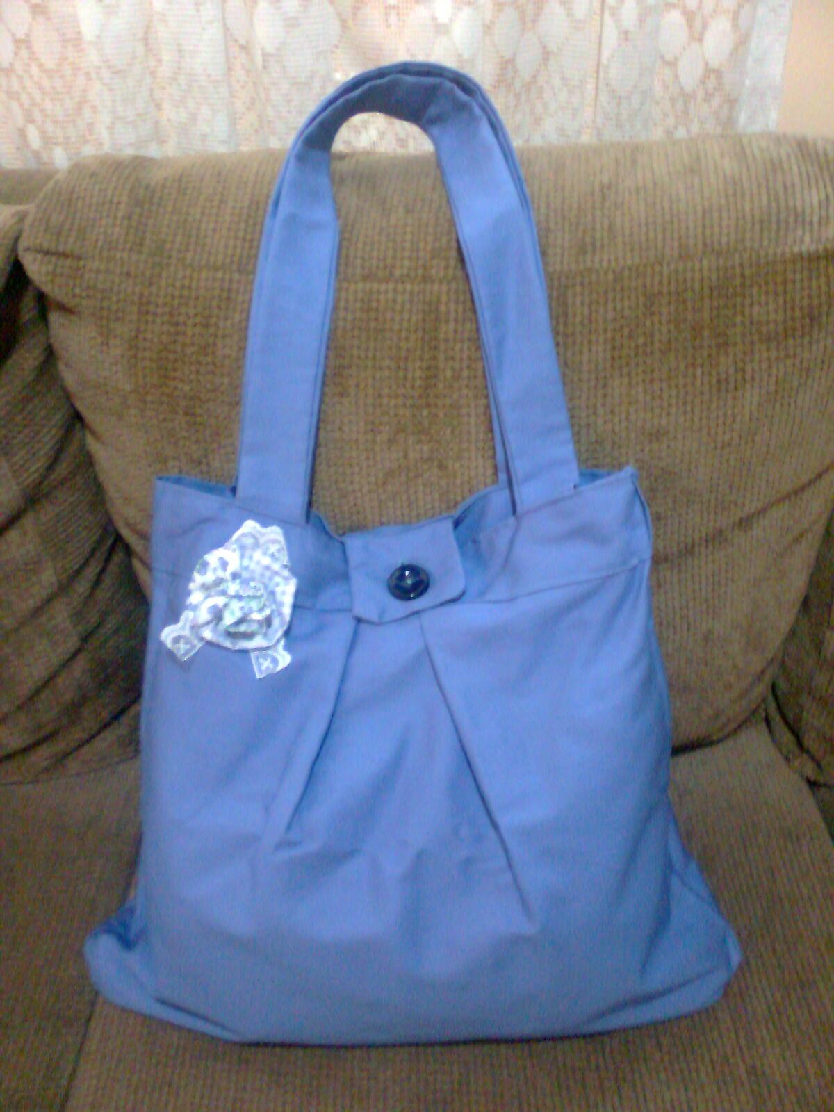 Bolsa De Tecido Artesanal : L?artes bolsa artesanal de tecido