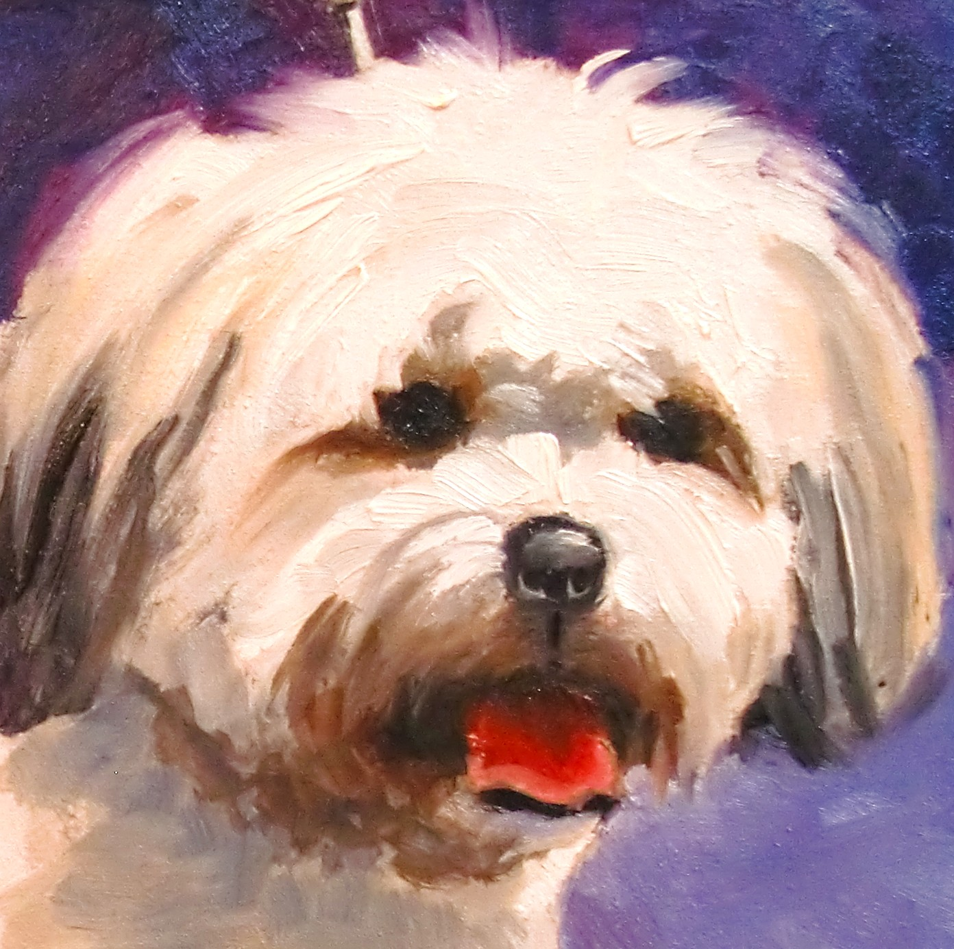 Daily painters abstract gallery 7 1 10 8 1 10 for Painting of your dog