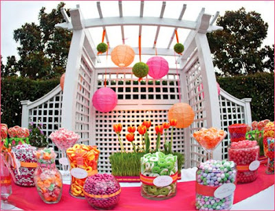 Check out some great spring and summer wedding designs from the Hostess with