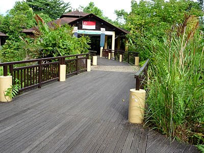 Sungei Buloh Wetland Reserve Entrance