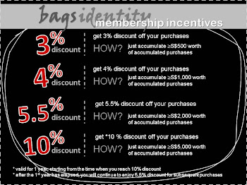 bagsidentity's membership incentives