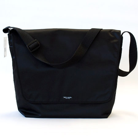 Nylon Messenger Bag Black 69