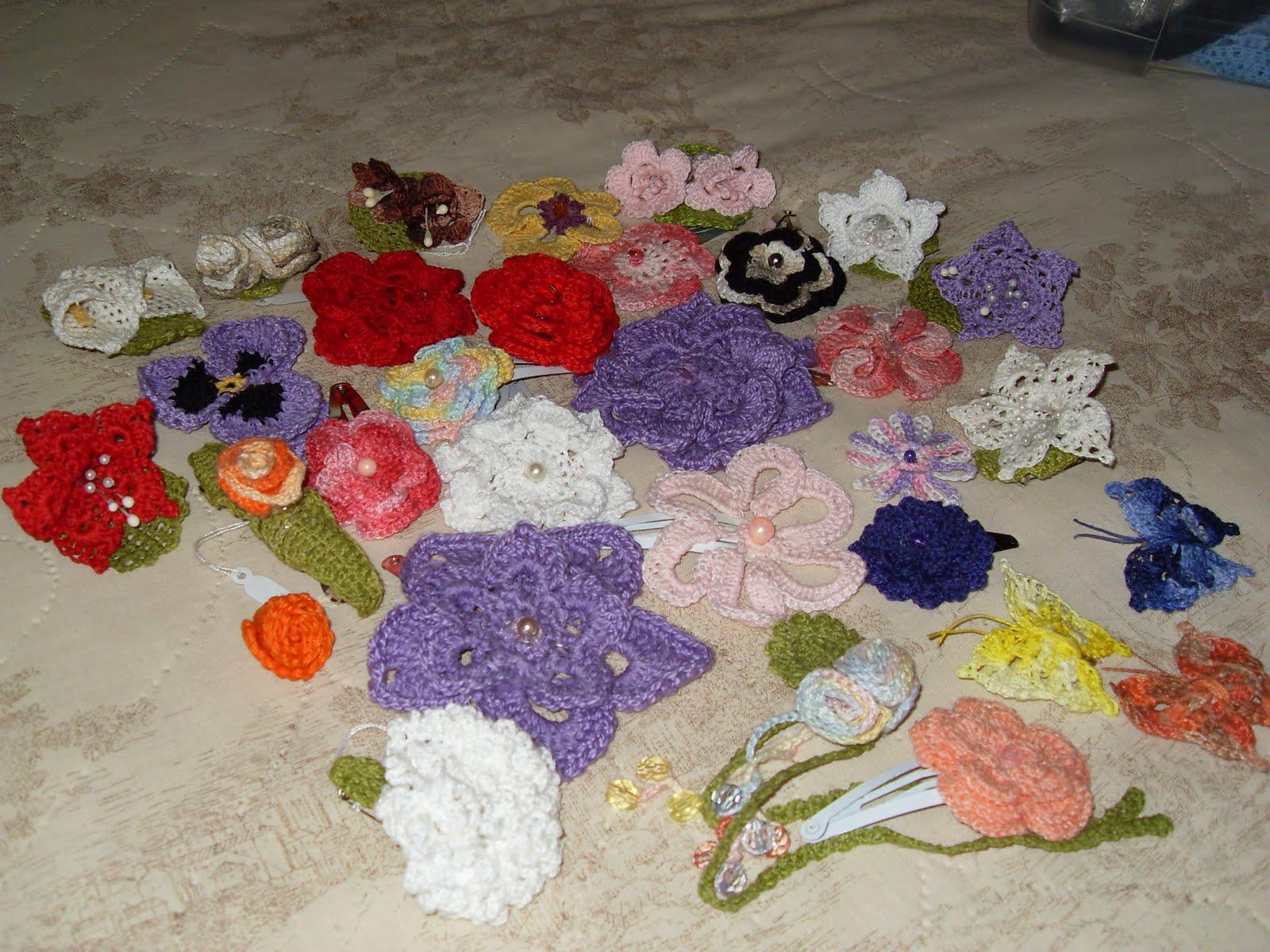 Meu jardim de crochê Flores de croche