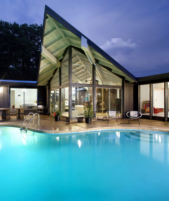 Architectural dreams contemporary remodel mid century - Modern house with pool ...