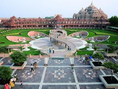 Swaminarayan-Akshardham-India-relaxation-meditation-holiday
