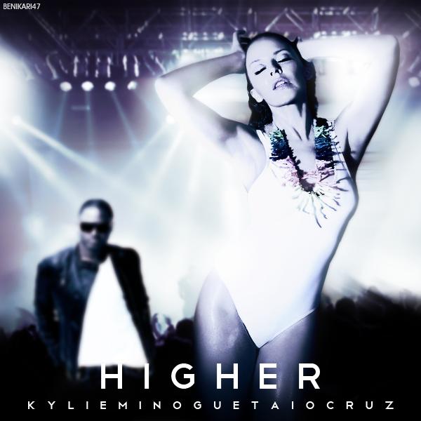 Kylie Minogue & Taio Cruz - Higher Cover