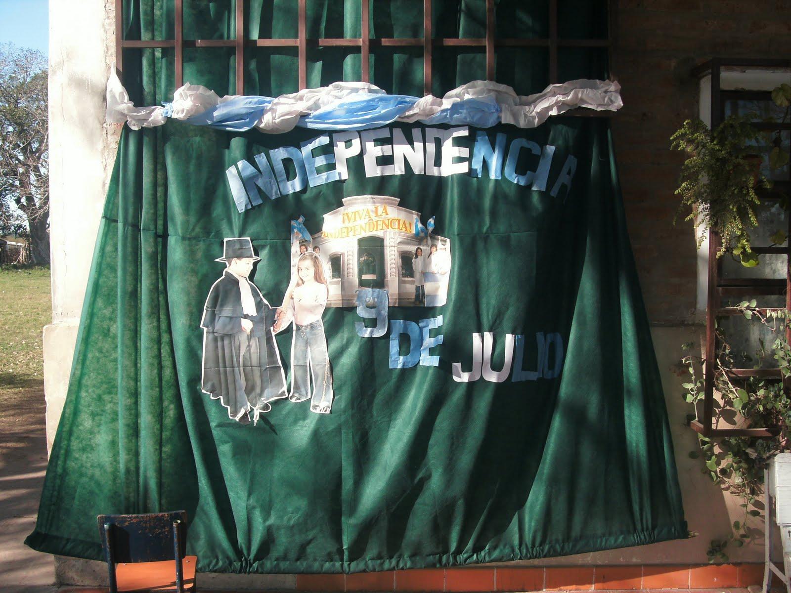Vivencias en la escuela n 719 goya corrientes acto 9 for Decoracion 9 de julio secundaria