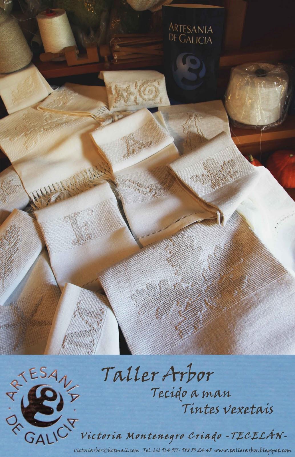 Taller Arbor Artesan A De Galicia En Lino