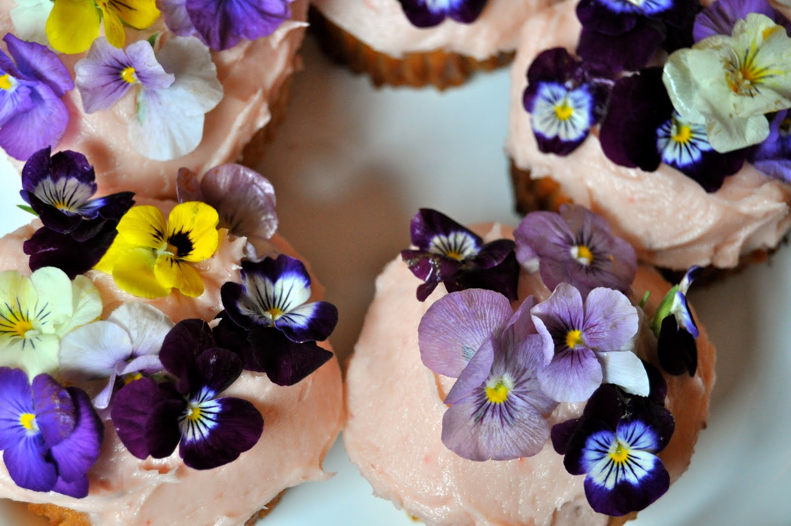 Edible flower simple syrup and cupcakes tribeca yummy mummy mightylinksfo