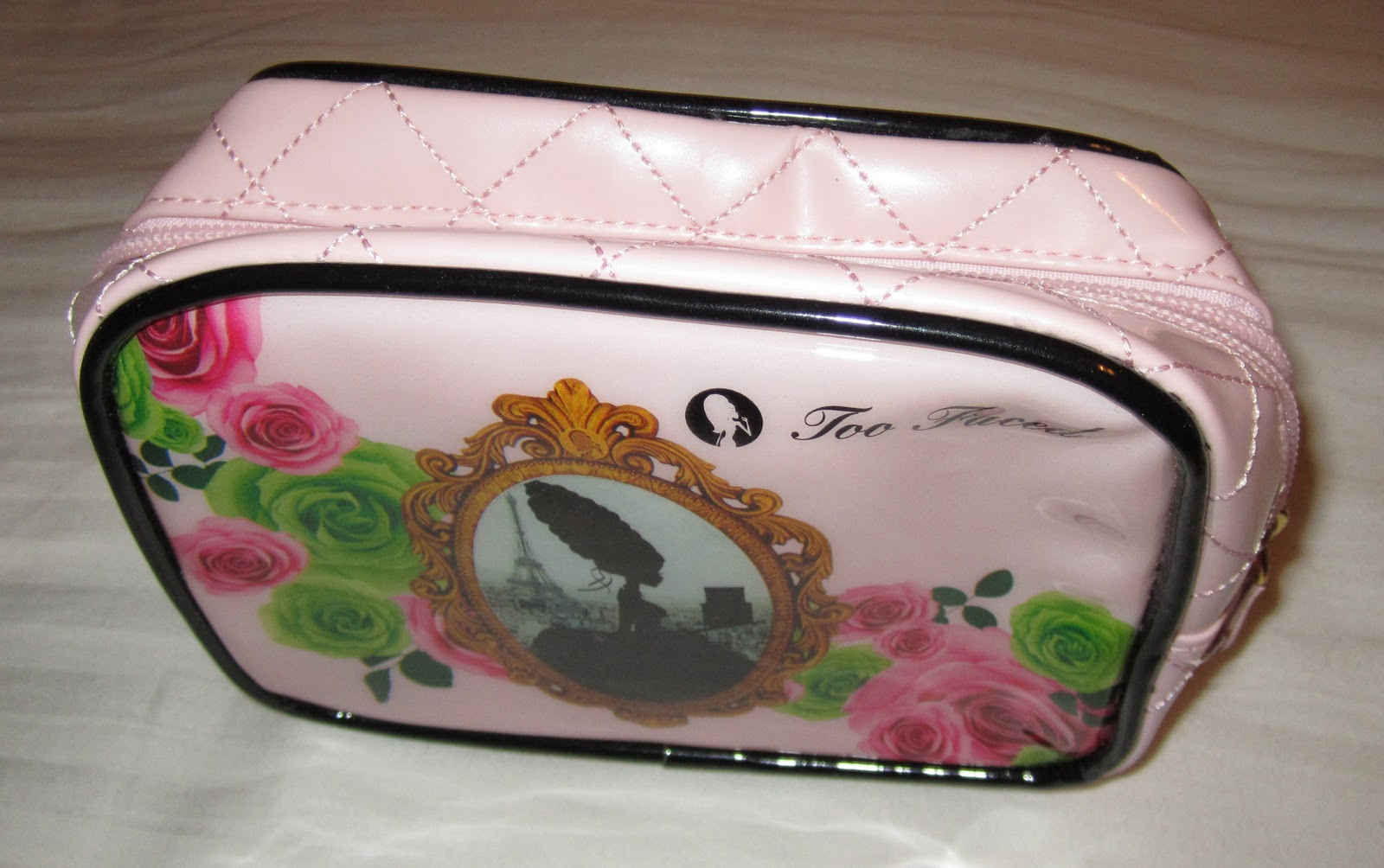 The Makeup Editor: Review: Too Faced Marie Antoinette cosmetic bag