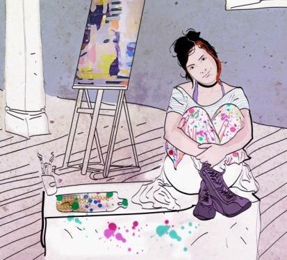Um lugar de Artes, Tintas, Reciclagem e mais o que pintar na mente!