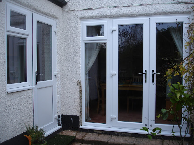 French Doors and side frames