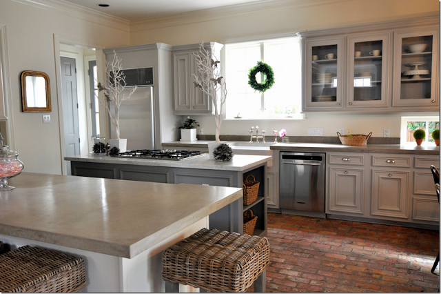 Gray Kitchen Cabinets!