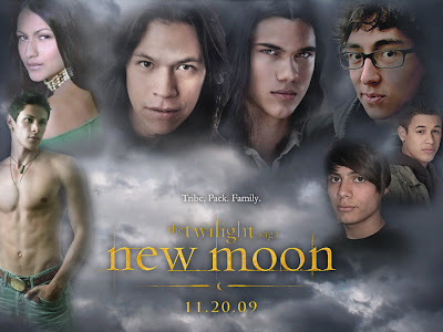 Entertainment runs with the wolf pack in the twilight saga new moon