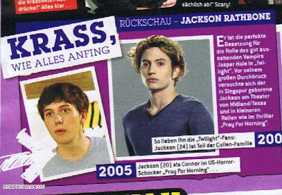 Bravo Boys cullen boys anonymous march bravo magazine scans of jackson rathbone