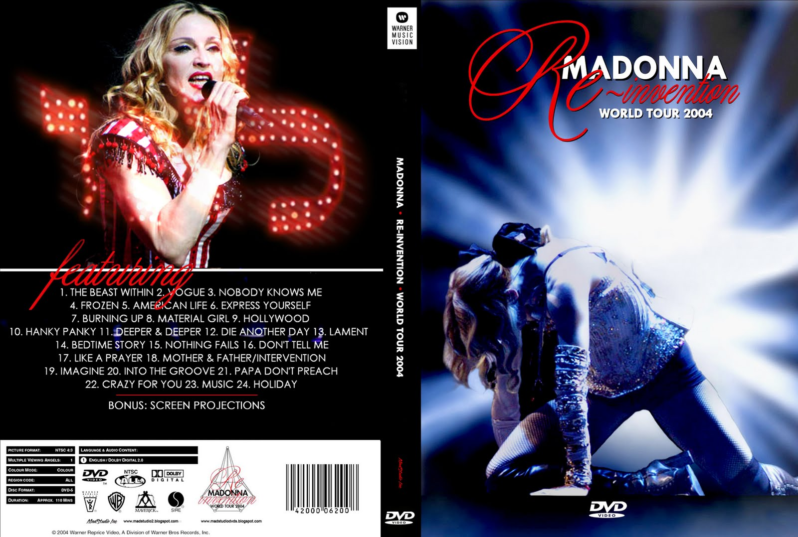 Drowned World Tour Blu Ray