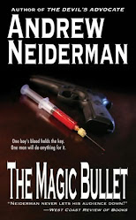 """The Magic Bullet"", the new thriller from Bestselling author Andrew Neiderman"