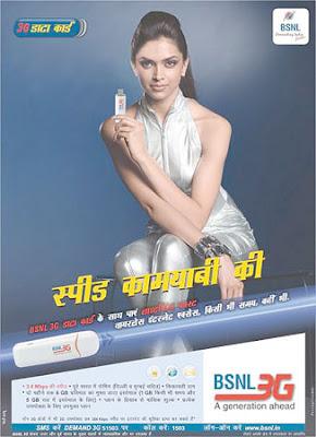 Deepika Padukone BSNL