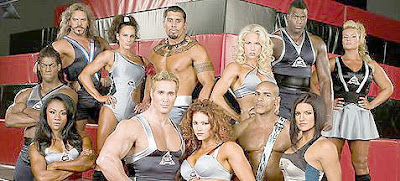 Gina Carano American Gladiator Crew