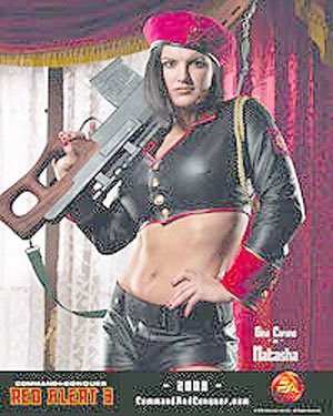 Gina Carano Red Alert 3