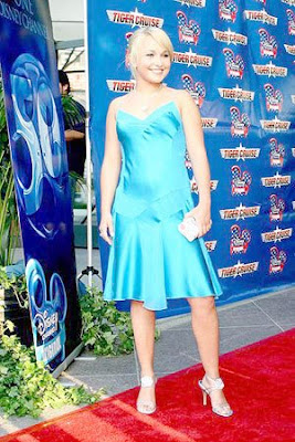 Hayden Panettiere Tiger Cruise Movie Premiere