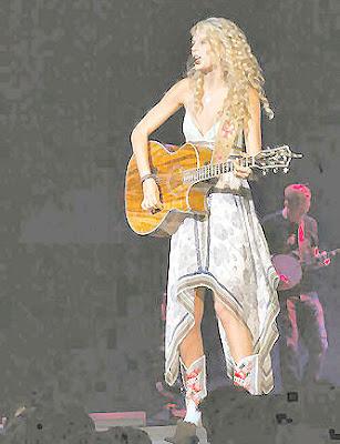 HOLLYWOOD: Taylor Swift Teardrops On My Guitar Chords