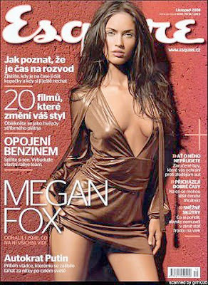 Megan Fox Esquire Magazine