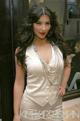 Kim Kardashian Alice & Olivia Show New York City Pics