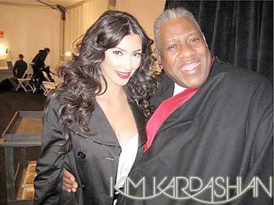 Kim Kardashian Tracy Reese Show Pictures