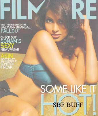 Bipasha Basu Filmfare Magazine April 2009 Photos