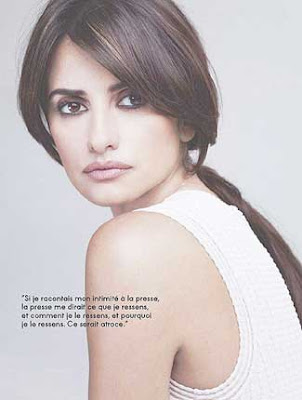 Penelope Cruz Elle Magazine France May 2009 Pictures