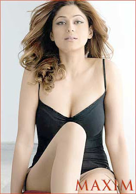 Shamita Shetty Maxim Magazine India June 2009 Pics