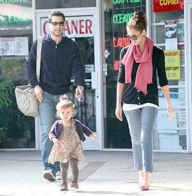 Jessica Alba Family