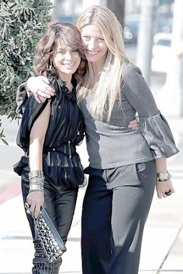 Paula Abdul and Tara Riceberg