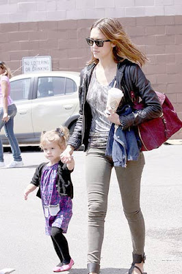 Jessica Alba Daughter Honor