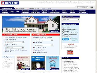 HDFC NetBanking India - HDFC Bank Online