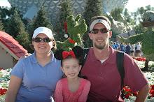 Our Family - Disneyworld Dec 2008