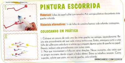 Ar0006 TÉCNICAS DE PINTURA: Outras Atividades para suas aulas de arte. para crianças